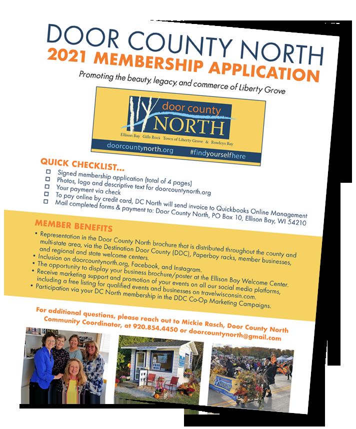 Door County North 2021 Membership Application