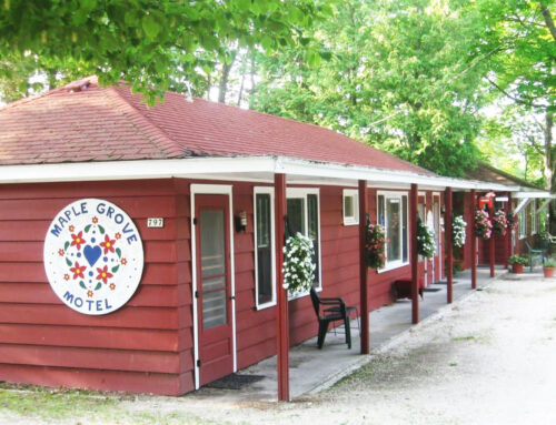 "The Maple Grove ""Retro"" Motel & Open Air Pavilion"